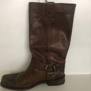 Frye harness boot